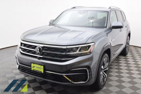 New 2021 Volkswagen Atlas SEL Premium R-Line and 4Motion